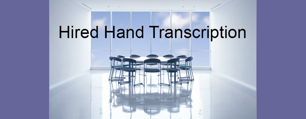 Hired Hand Transcription office image